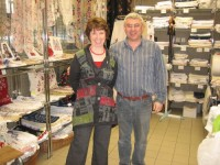 Catherine Ashton was in our shop!